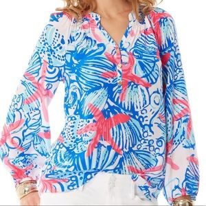 Lilly Pulitzer Elsa Top- XS She She Shells